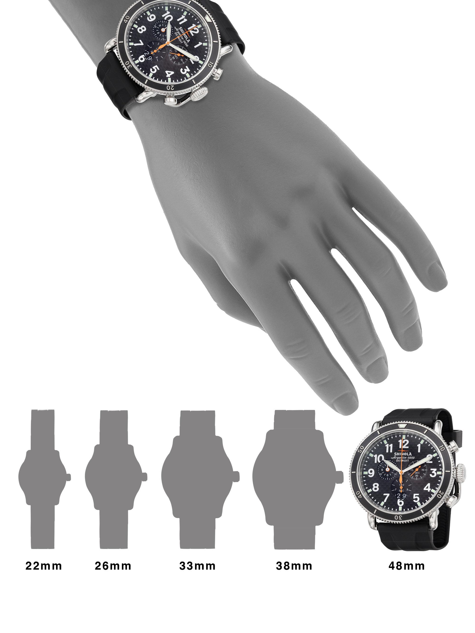 2fe3e1f1e Shinola Runwell Sport Chronograph Watch in Gray for Men - Lyst