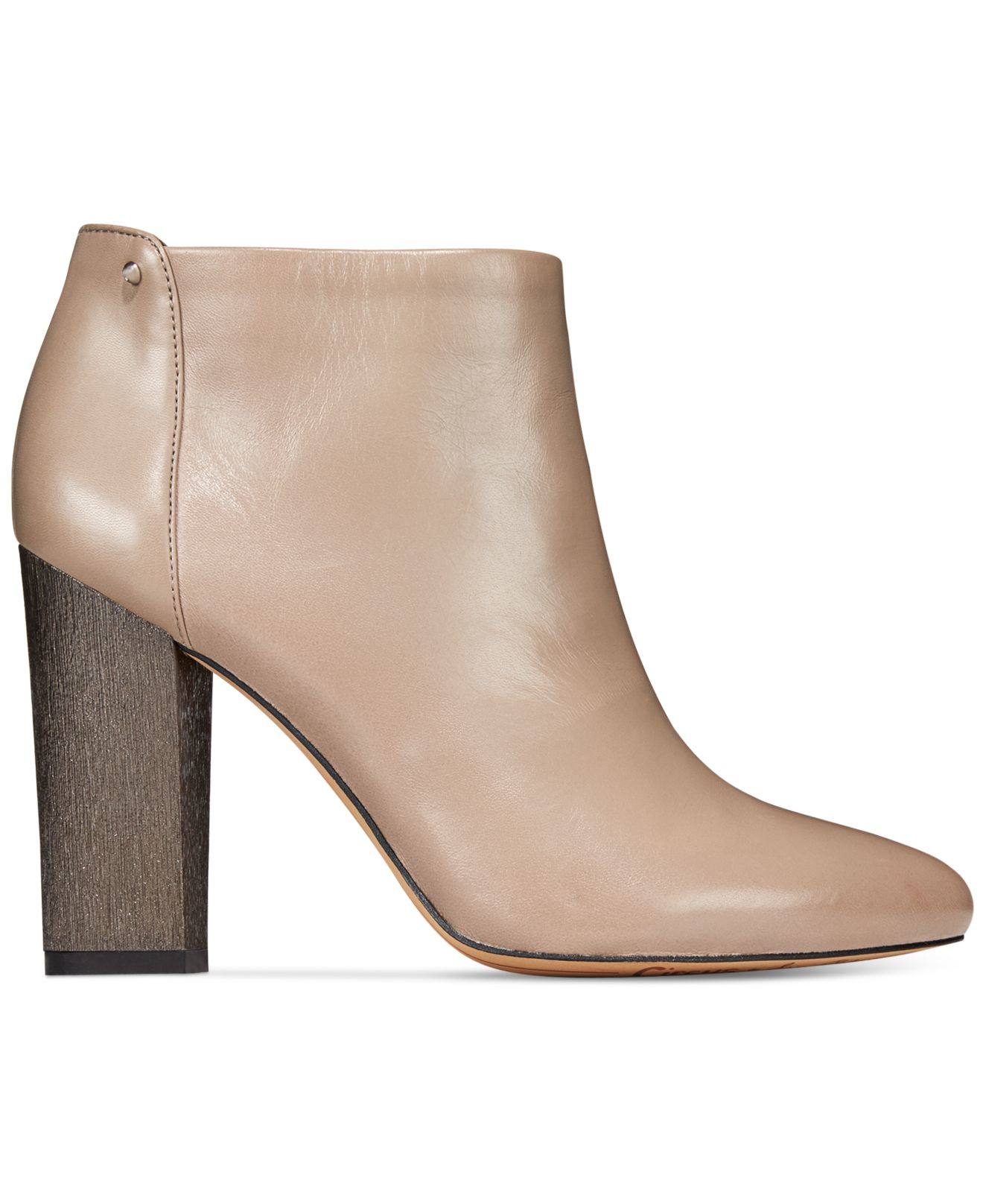 3329180dc650 Lyst - Circus by Sam Edelman Bond Dress Ankle Booties in Gray