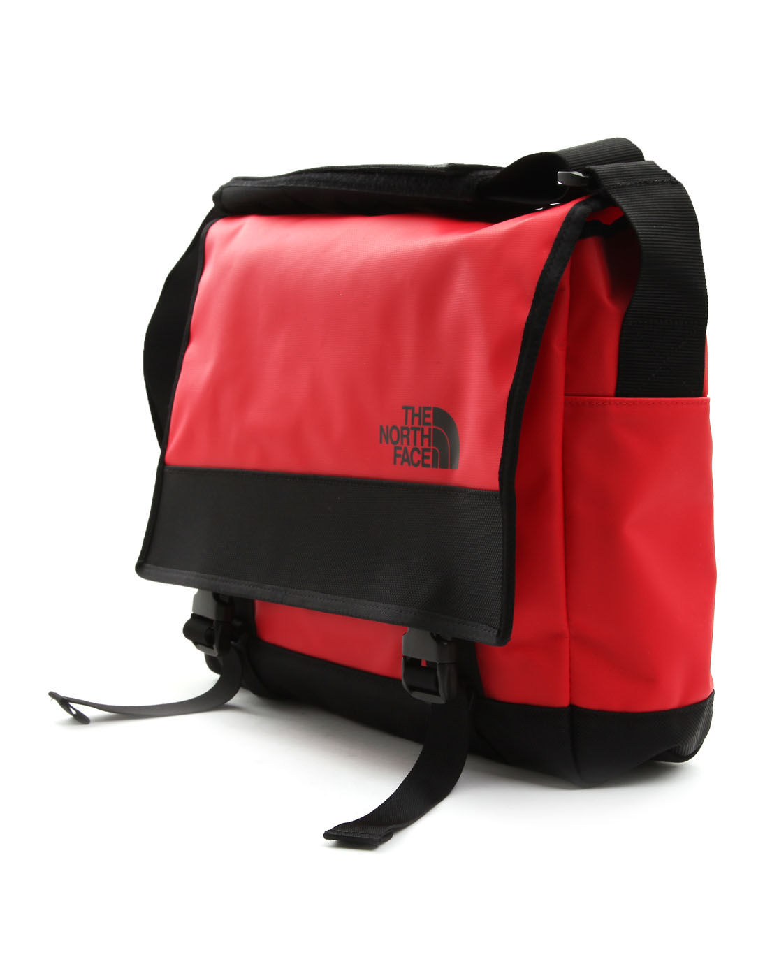 the north face small red messenger bag in red for men. Black Bedroom Furniture Sets. Home Design Ideas