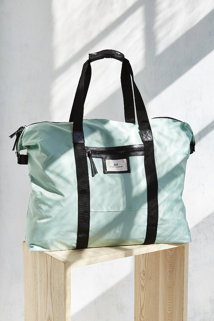 day birger et mikkelsen gweneth weekend bag in green lyst. Black Bedroom Furniture Sets. Home Design Ideas