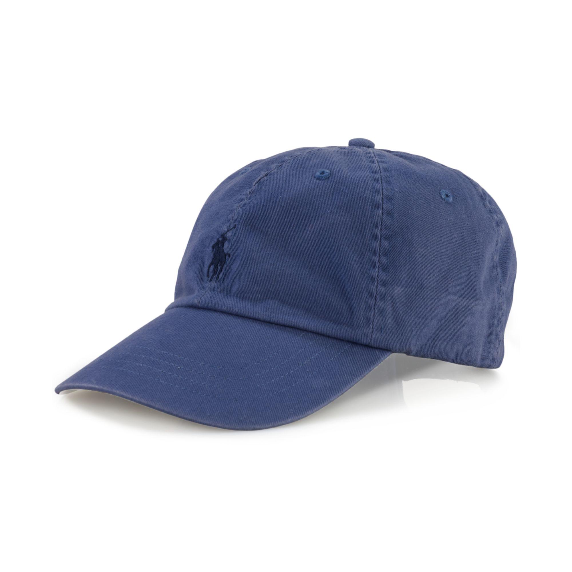 polo ralph lauren core classic sport cap in blue for men carson blue. Black Bedroom Furniture Sets. Home Design Ideas