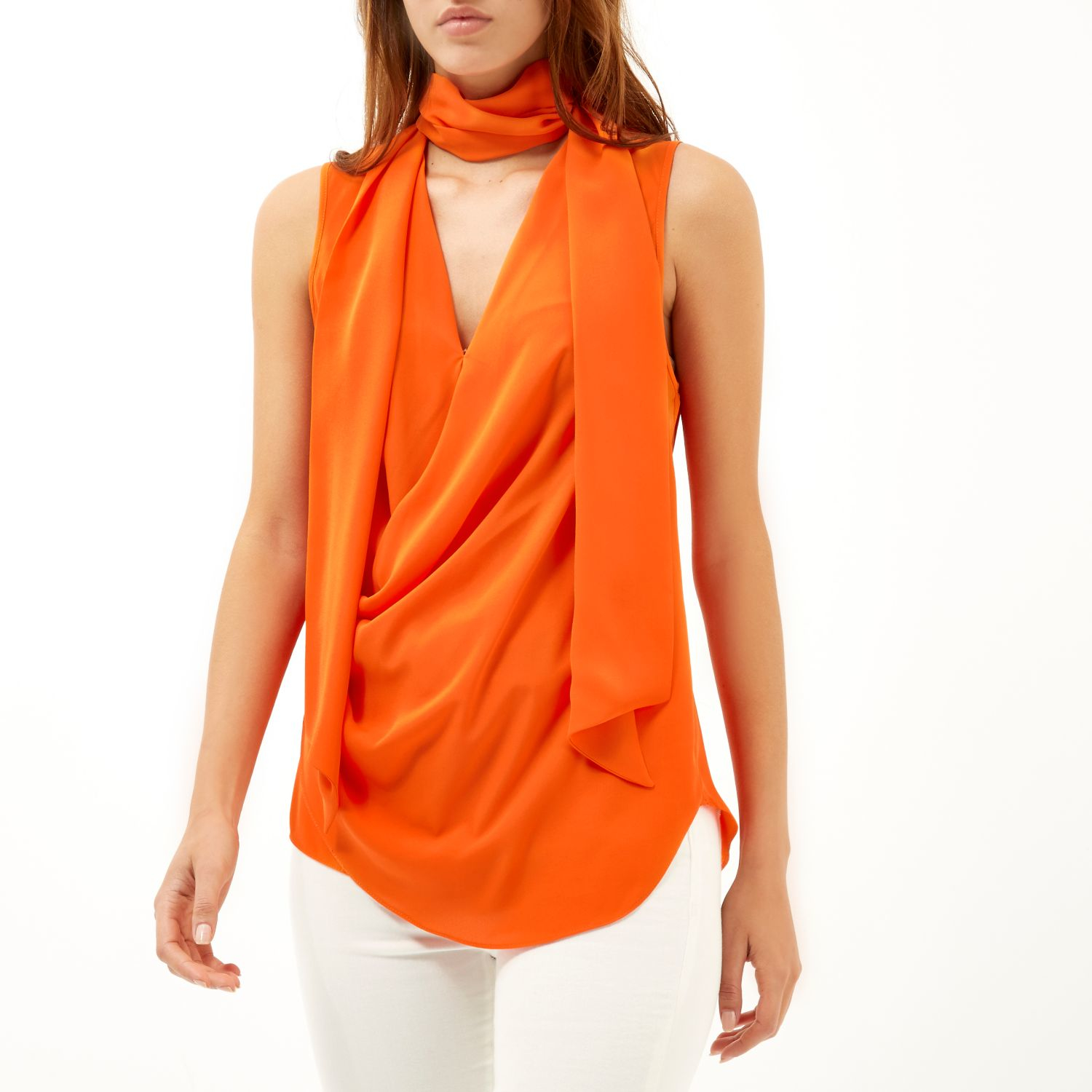 All about Burnt Orange Blouses