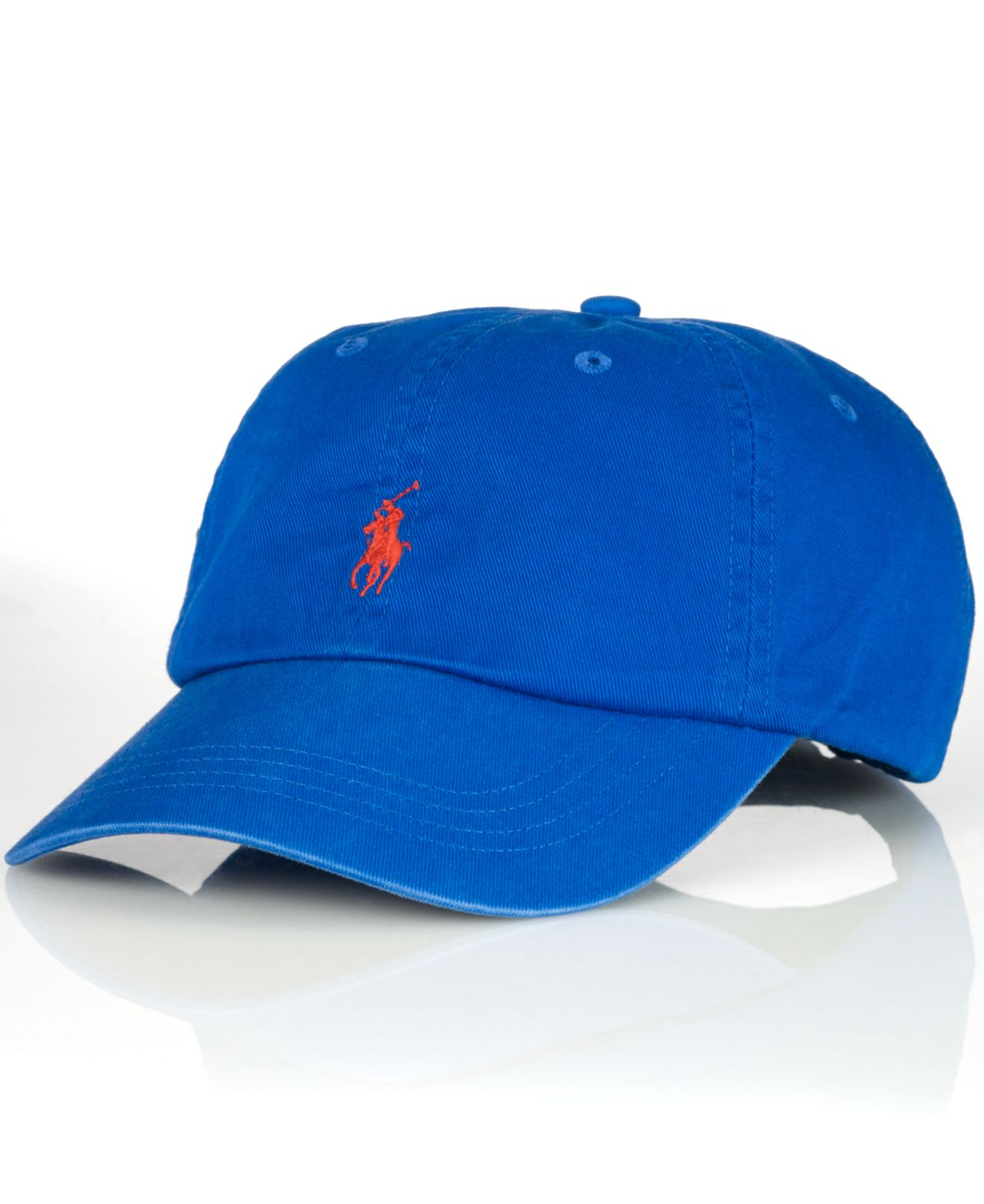 cb7b238f0ee ... sweden lyst polo ralph lauren classic chino sports cap in blue for men  f760f a8fdf