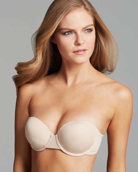 Wacoal Bra - Red Carpet Average Strapless #854219 in Beige (Naturally Nude)