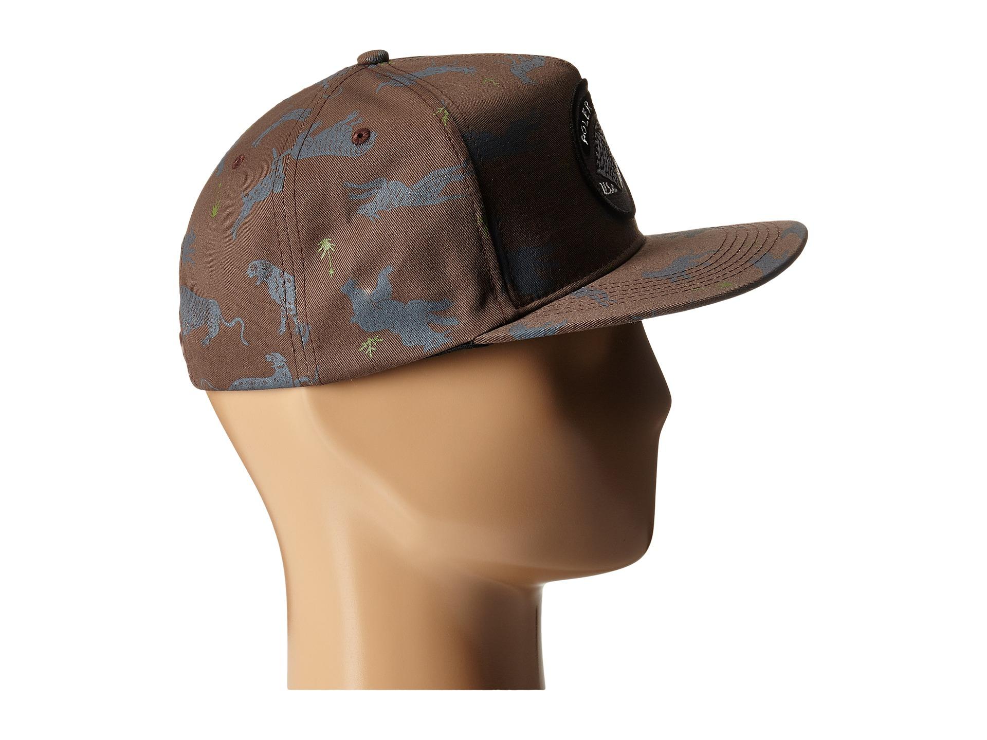 fa86f83cdfe02 Lyst - Poler Tiger Eye Snapback in Brown for Men