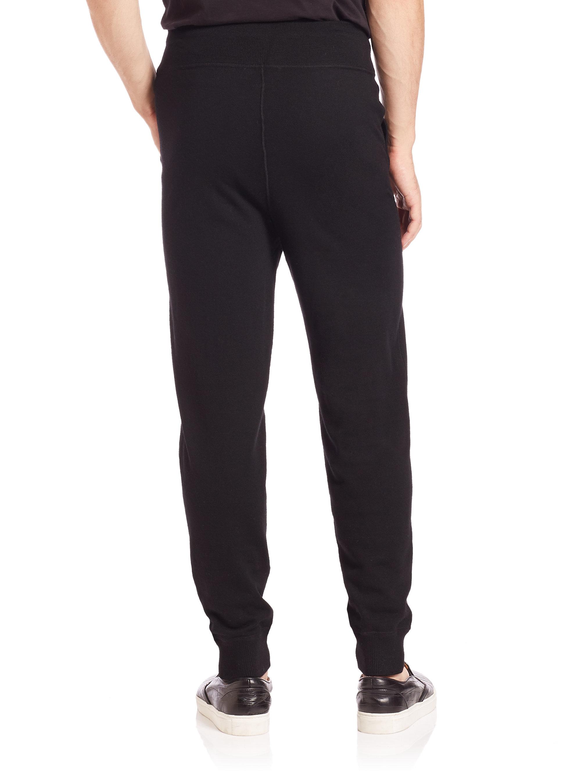 Lyst Polo Ralph Lauren Merino Wool Lounge Pants In Black For Men
