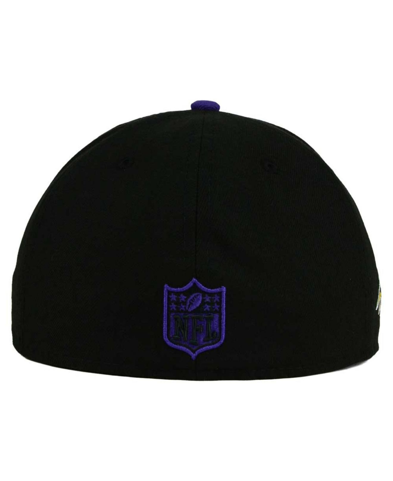 new concept 076ce 03ce1 KTZ Baltimore Ravens State Flective Redux 59fifty Cap in Black for ...