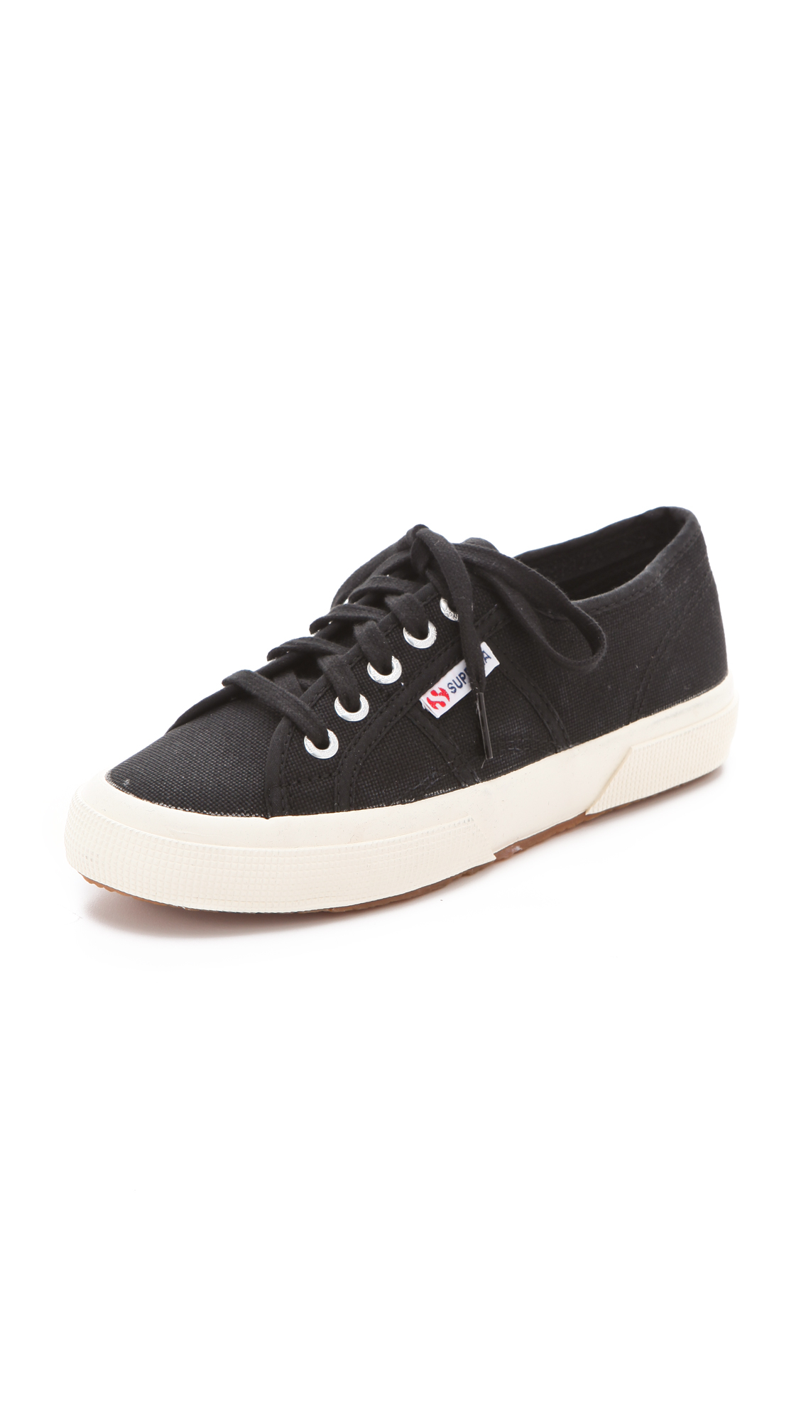 superga 2750 cotu classic sneakers in black lyst