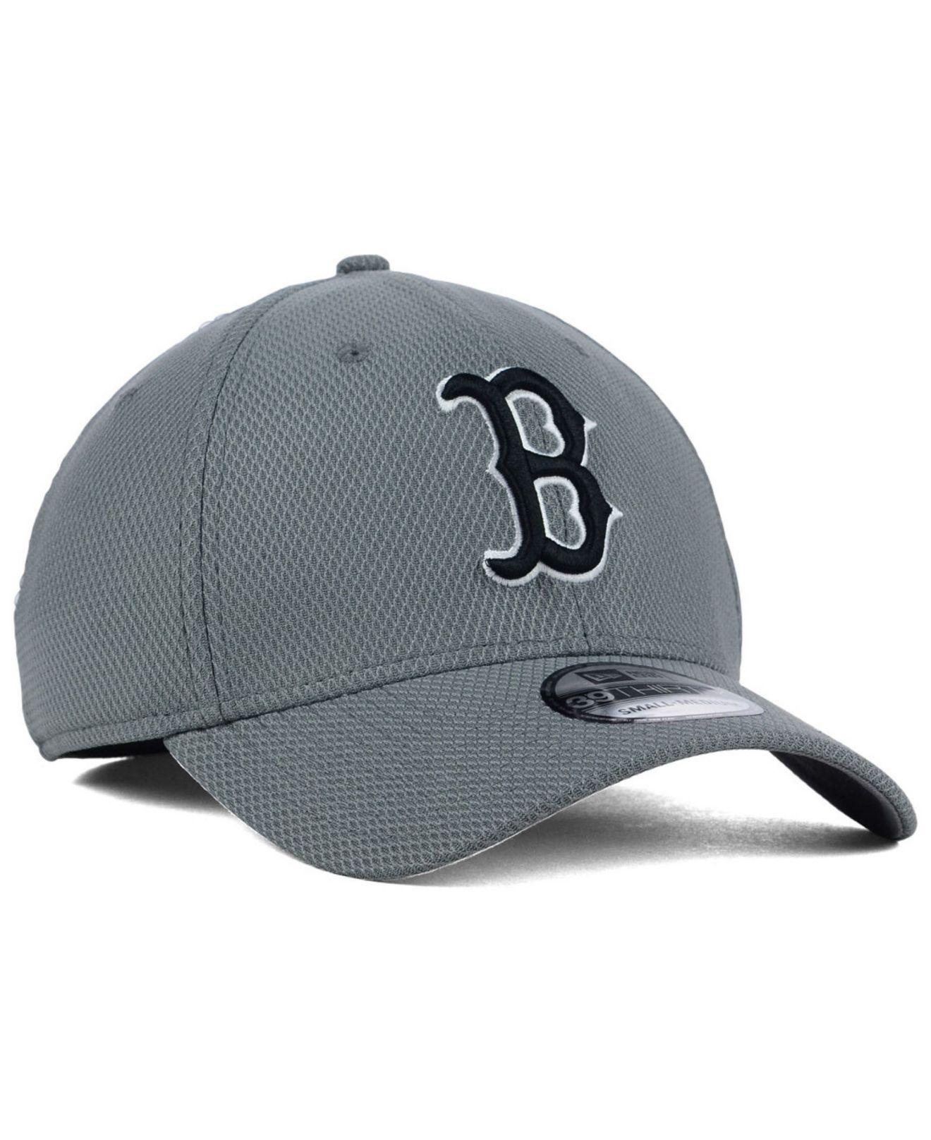 online store 8bc34 ee364 ... clearance lyst ktz boston red sox diamond era gray black white 39thirty  cap ca76d ca782