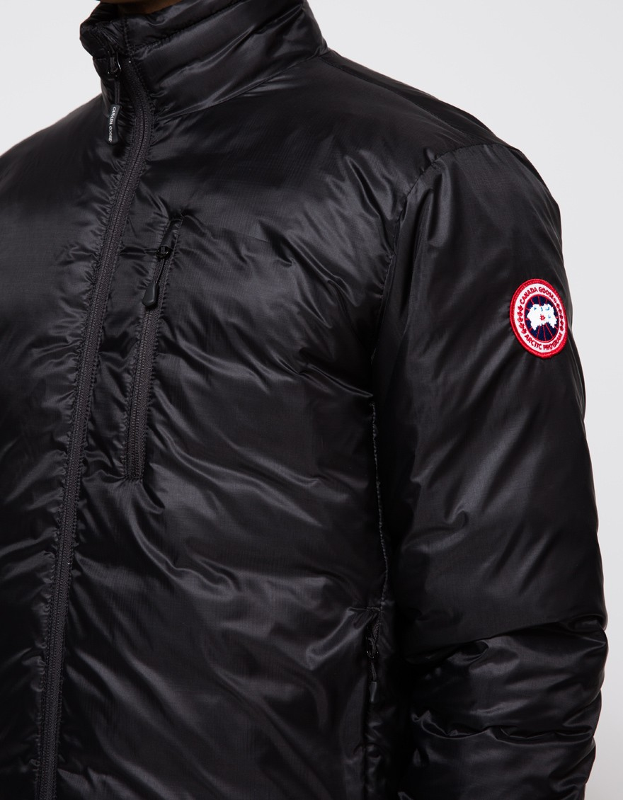 canada goose lodge jacket flannels