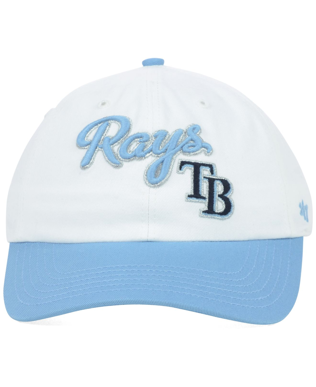 reputable site 12c4a 535c2 Lyst - 47 Brand Women s Tampa Bay Rays Beth Cap in Blue