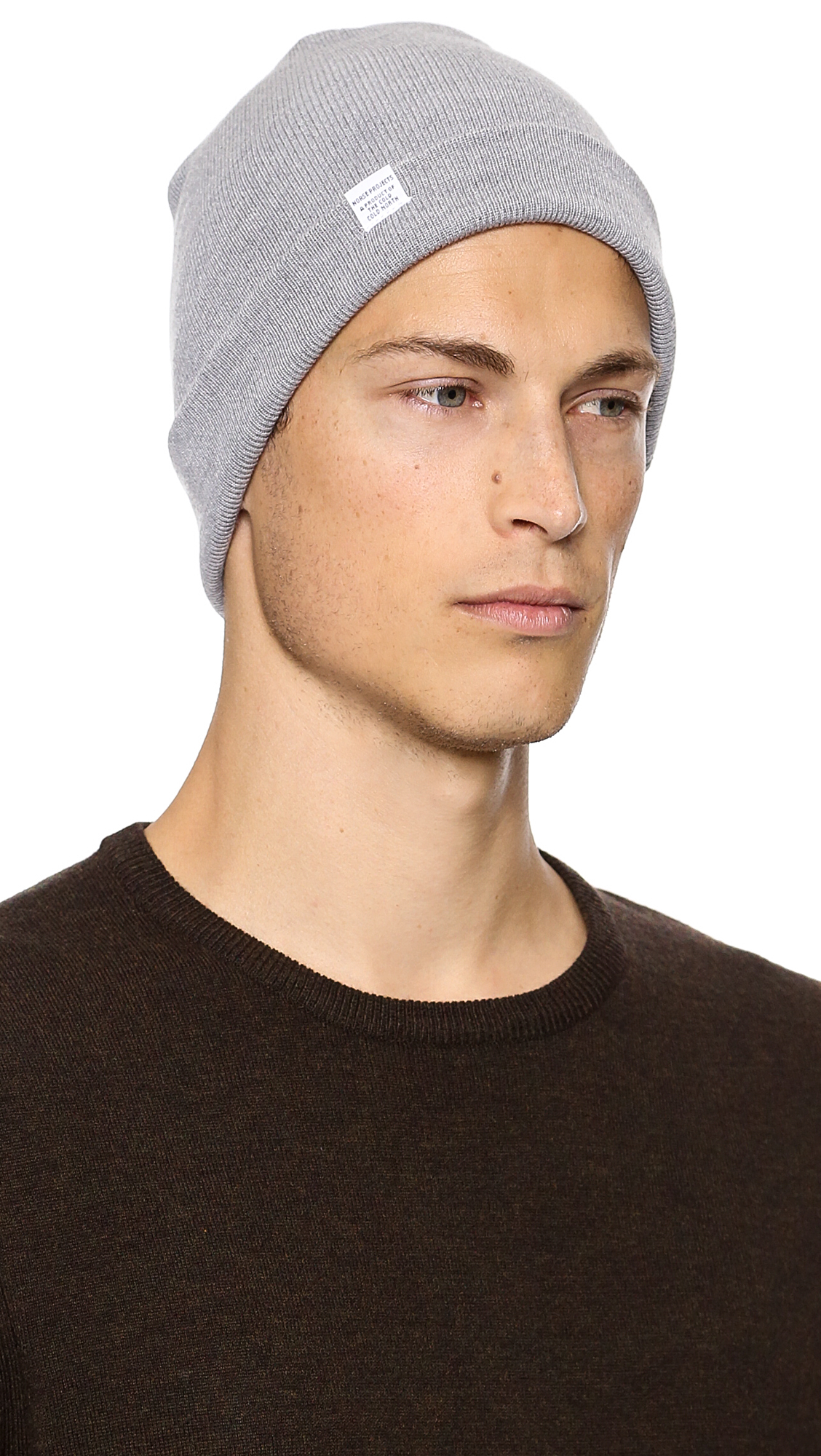 9f7d4696d6b Norse Projects Norse Top Beanie in Gray for Men - Lyst