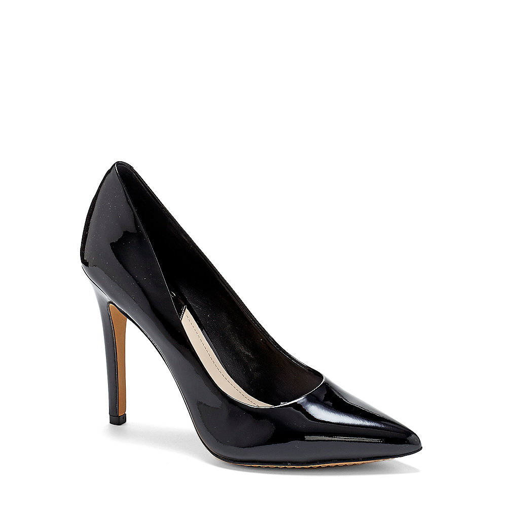 Vince Camuto Kain Patent Leather Pumps In Black Lyst