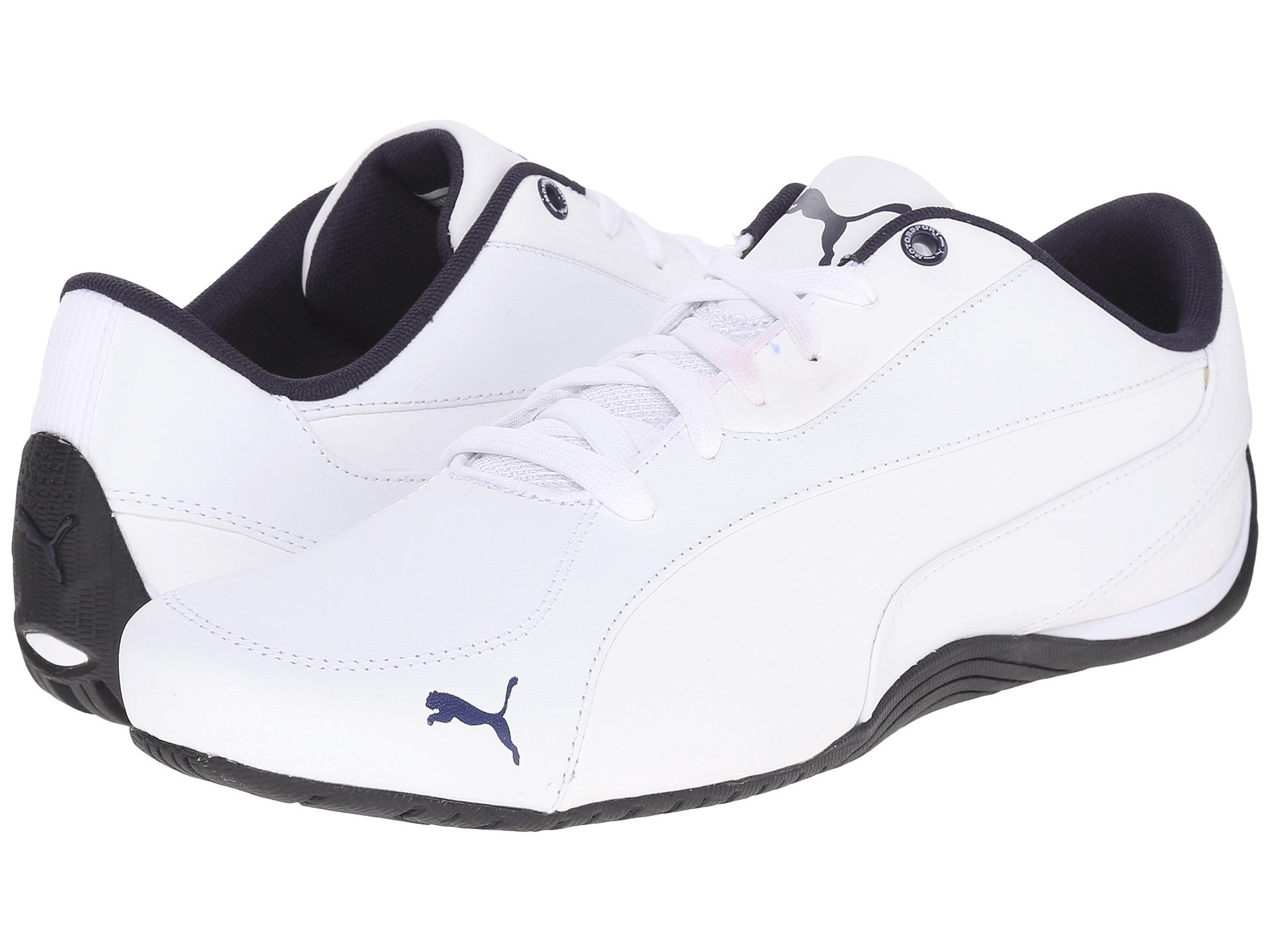 2127cfe09e21 Lyst - PUMA Drift Cat 5 Leather in White for Men