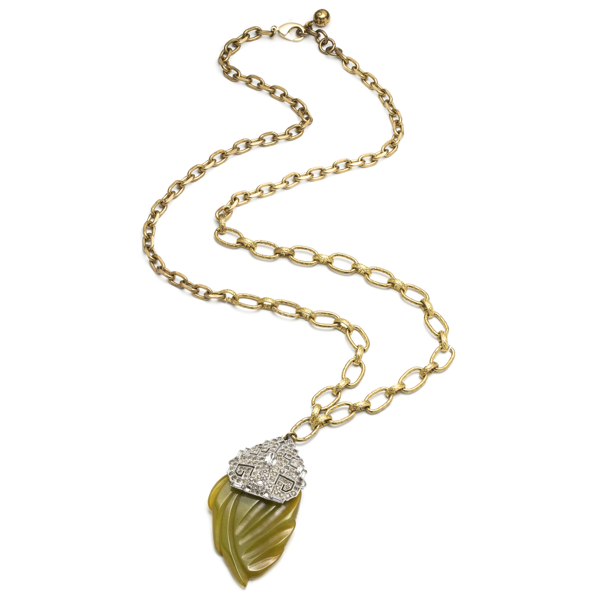 lulu one of a pendant 2 in metallic lyst