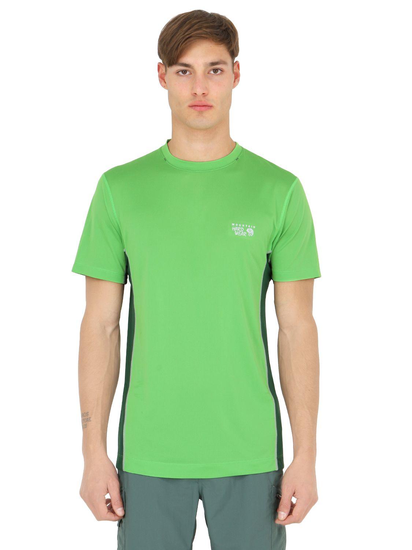 eaa6971def7 Mountain Hardwear Wicked Lite T Shirt Long Sleeve Mens - Cotswold Hire