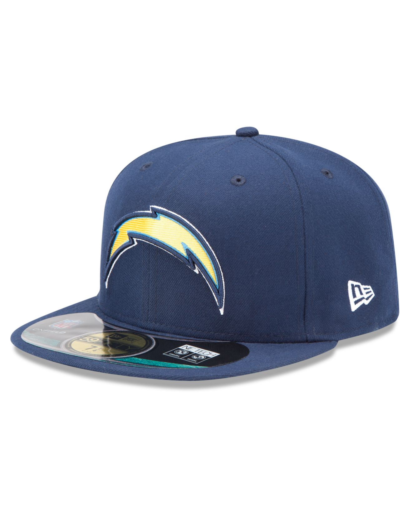 San Diego Chargers Cap: Ktz San Diego Chargers On-field 59fifty Fitted Cap