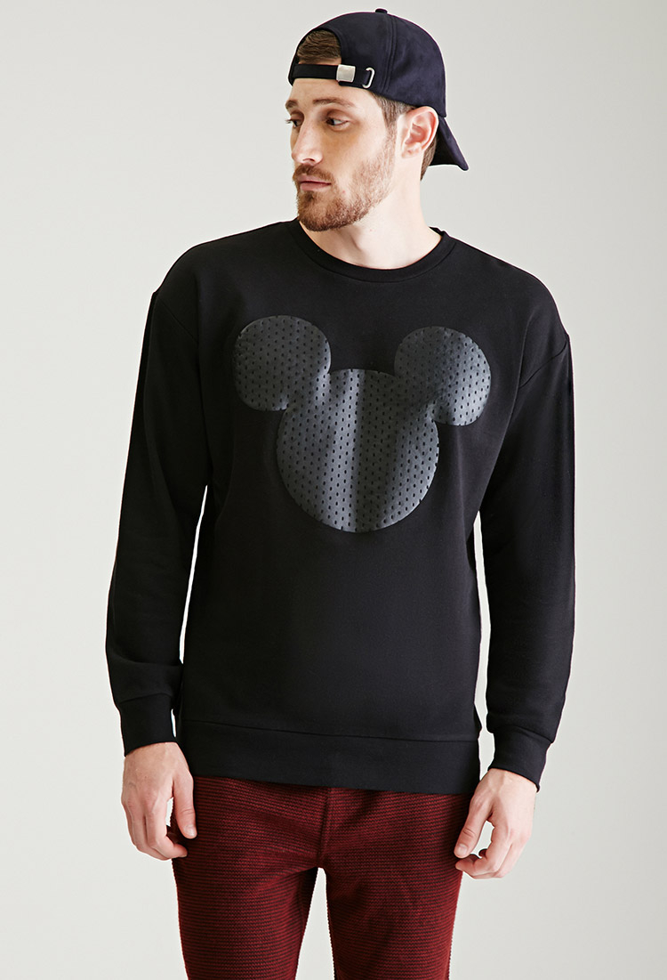 Forever 21 Mickey Mouse Silhouette Sweatshirt You Ve Been