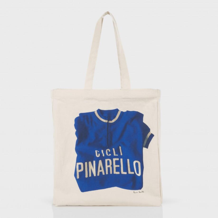 4b50e27e510 Lyst - Paul Smith Men s Blue Vintage  cycling Jersey  Print Tote Bag ...