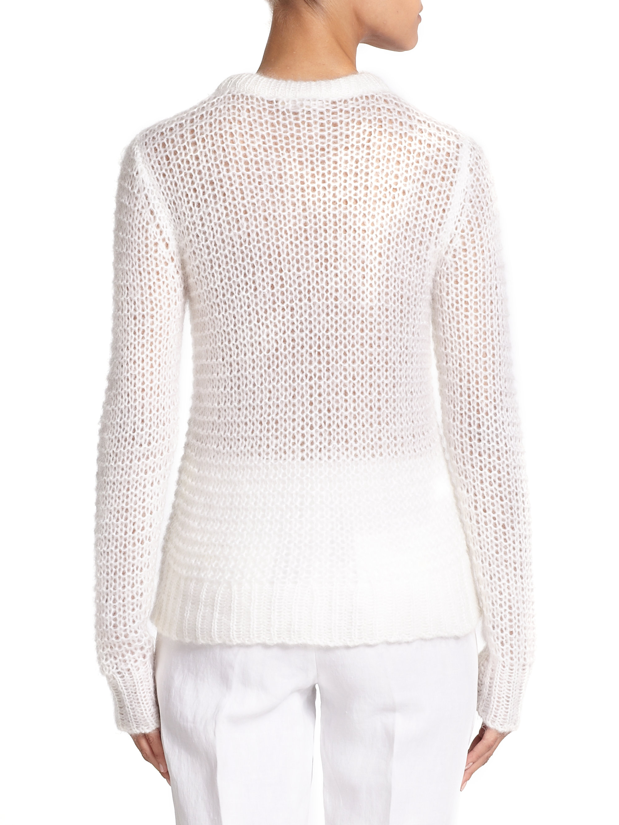 white open knit sweater - 28 images - theory sweater tollie b open ...