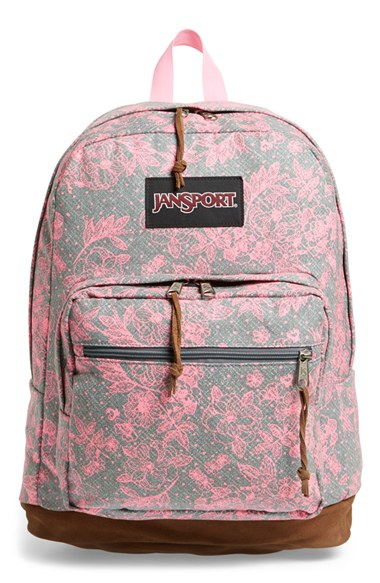 Lyst - Jansport  right Pack - Expressions  Backpack in Gray 831307dca2b57