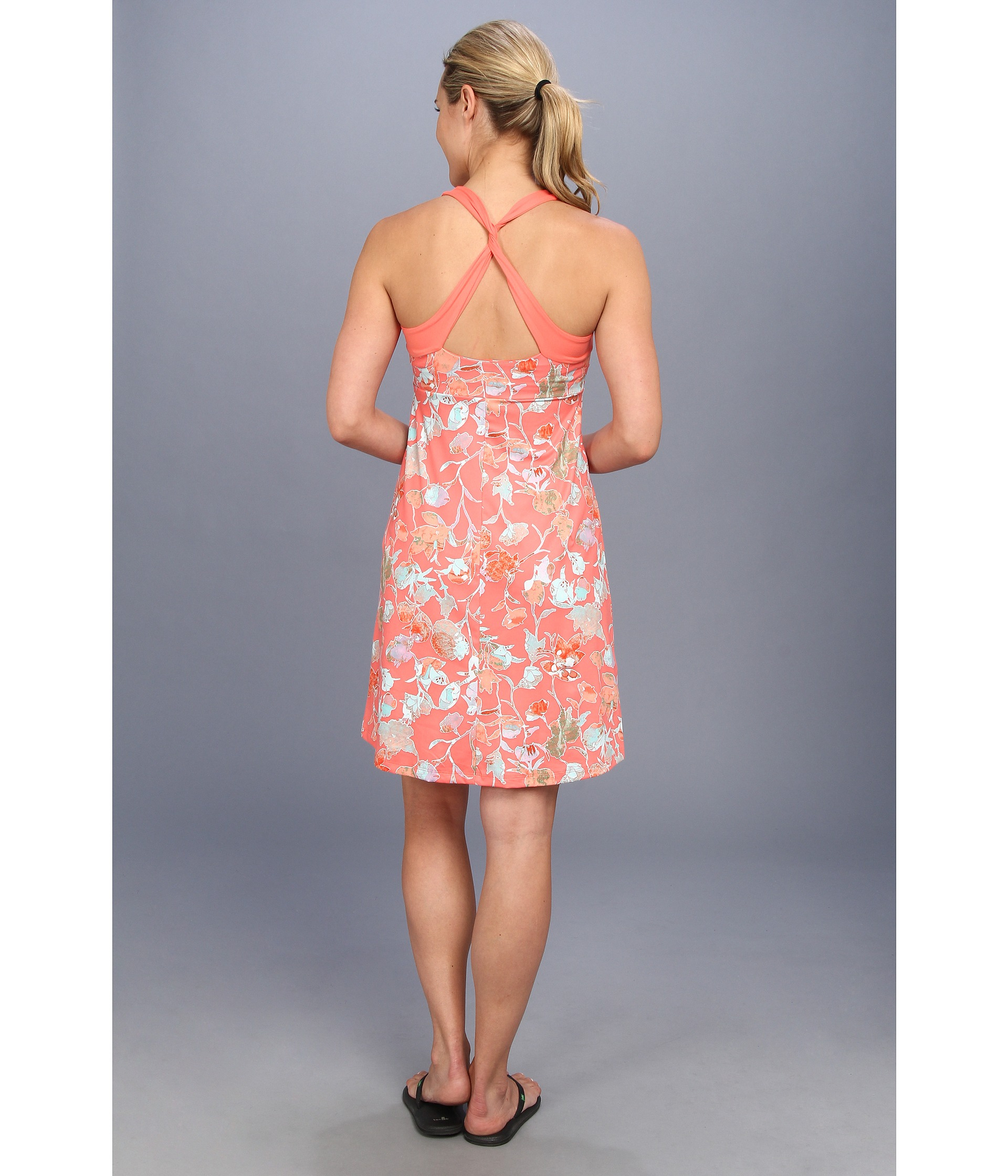 19c5c68a1ec Patagonia Morning Glory Dress in Pink - Lyst