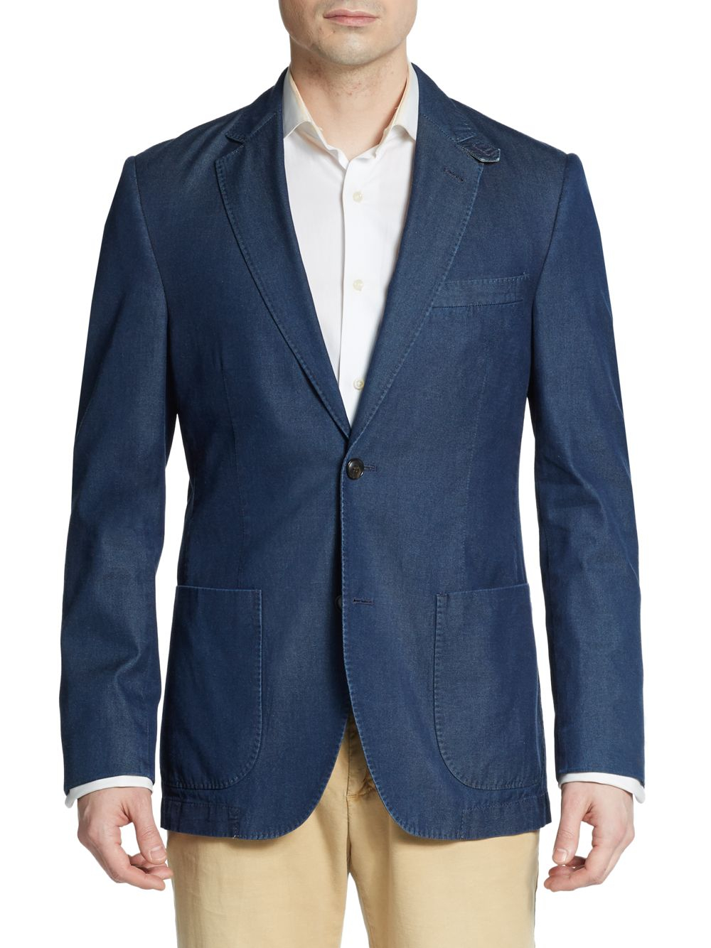 Kroon Bono Denim Sportcoat in Blue for Men | Lyst