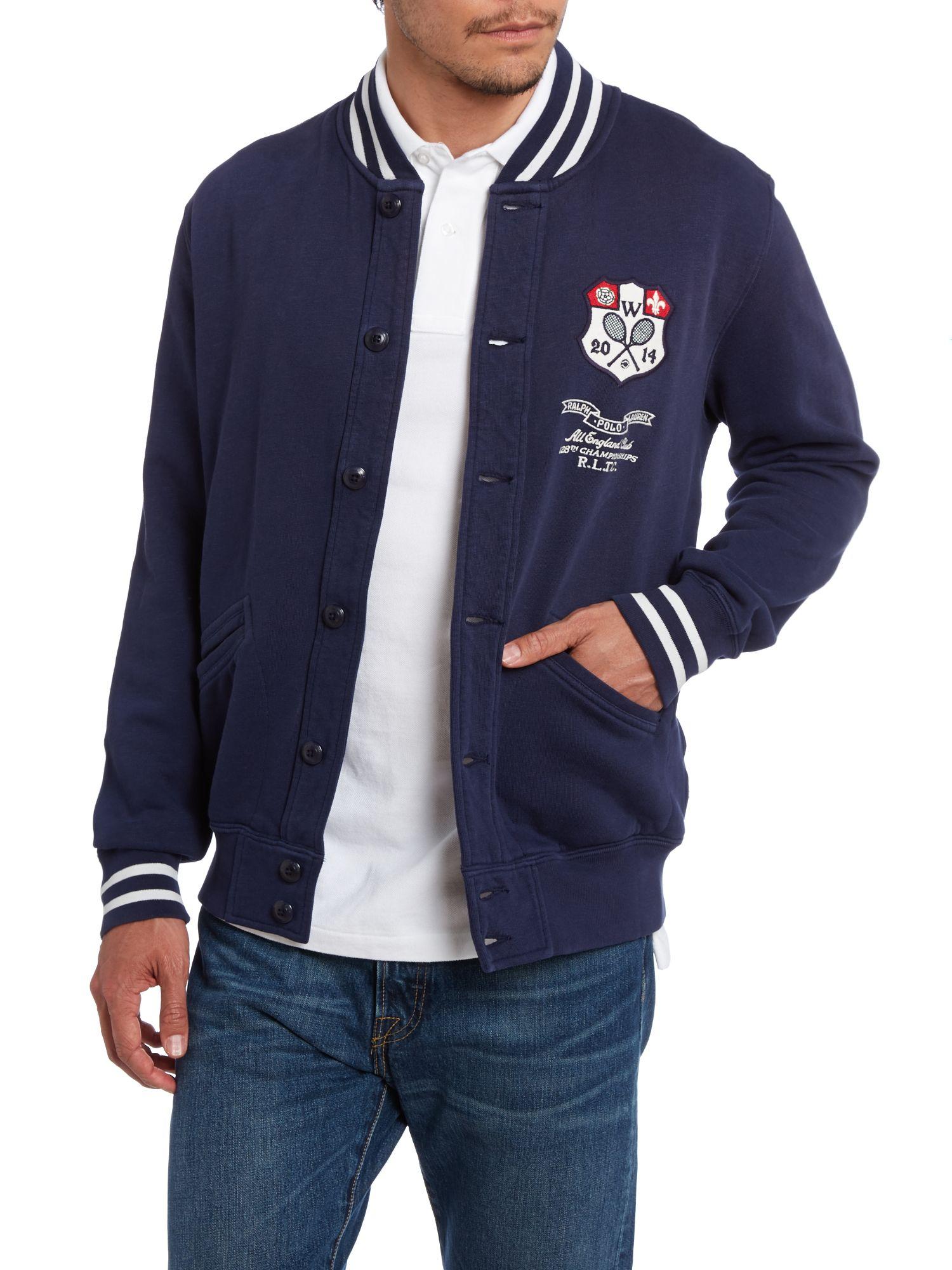 Ralph Ralph Wimbledon Polo Lauren Lauren Wimbledon Jacket Polo iOPkuXZ