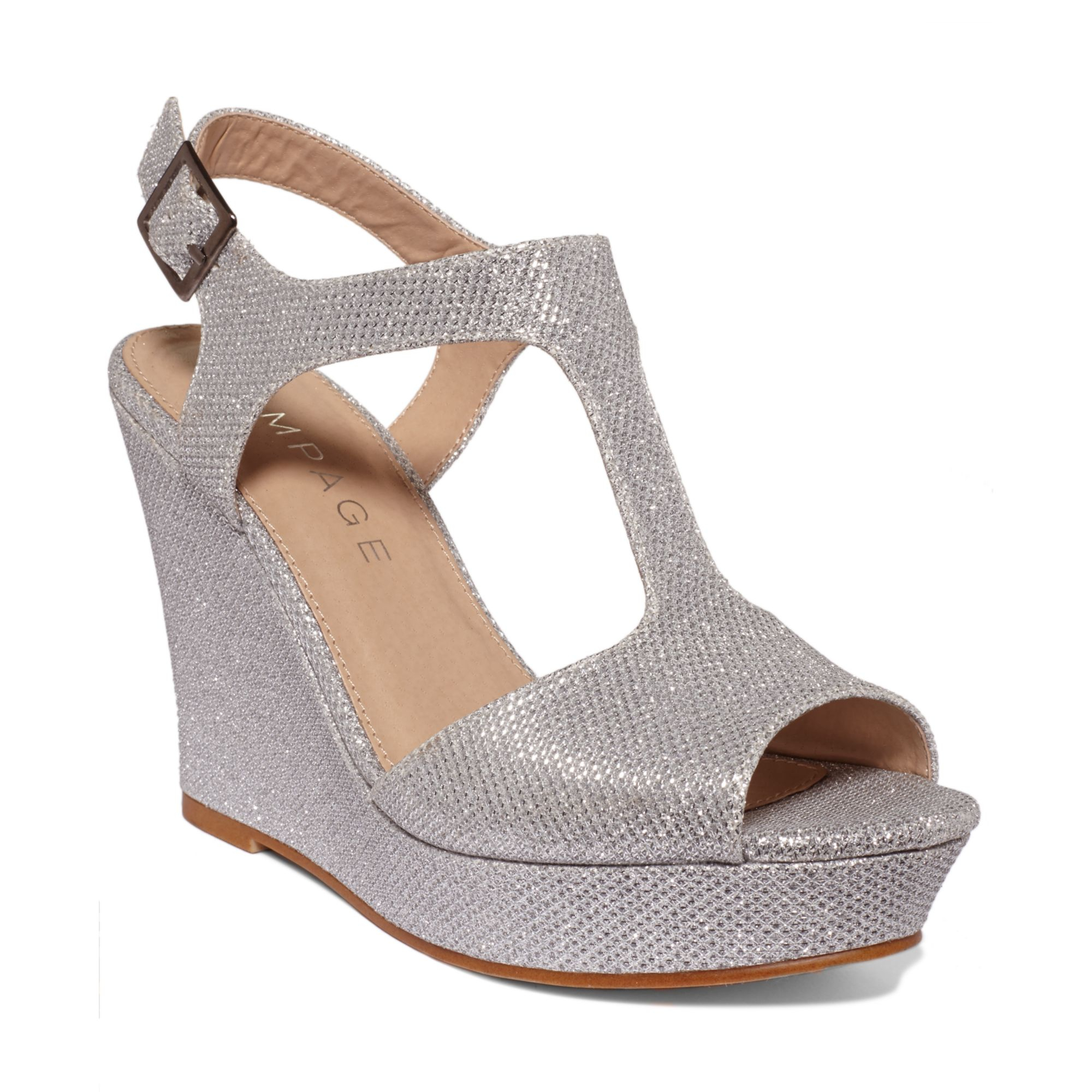Shop for silver wedge sandals at arifvisitor.ga Free Shipping. Free Returns. All the time.