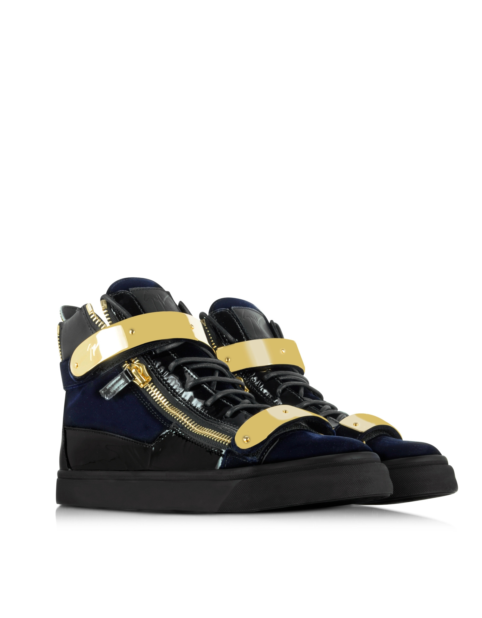 Zanotti Blue Shoes
