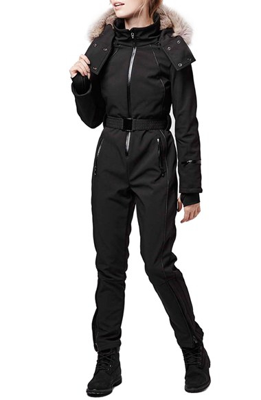 Topshop Ski Snow Suit Womens New All In One Inner UK 8 12