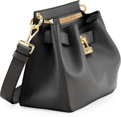 Original Tom Ford Womens Large Lockfront Crossbody Bag Black In Black  Lyst