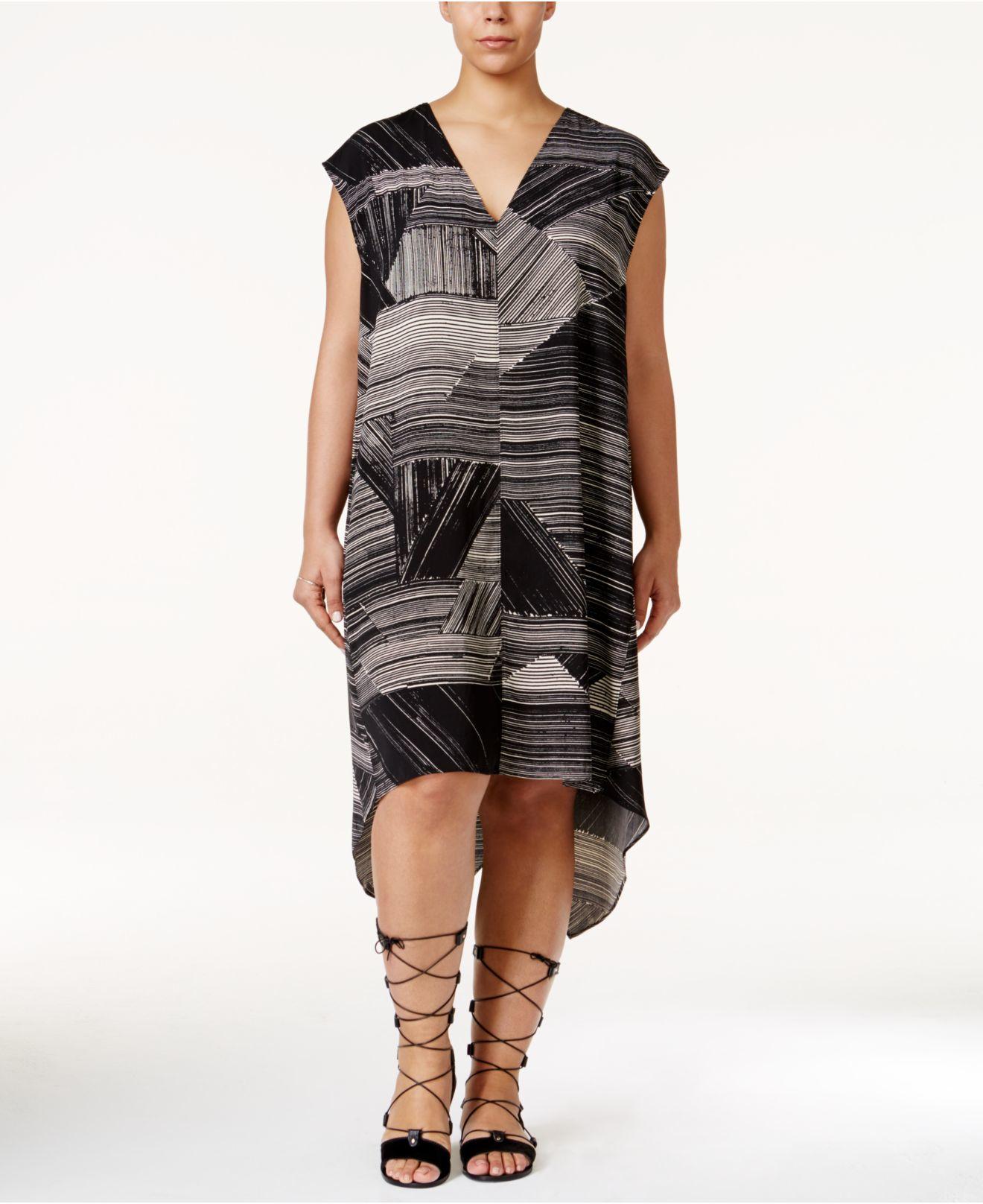 Lyst Rachel Rachel Roy Curvy Plus Size Sydney Printed High Low