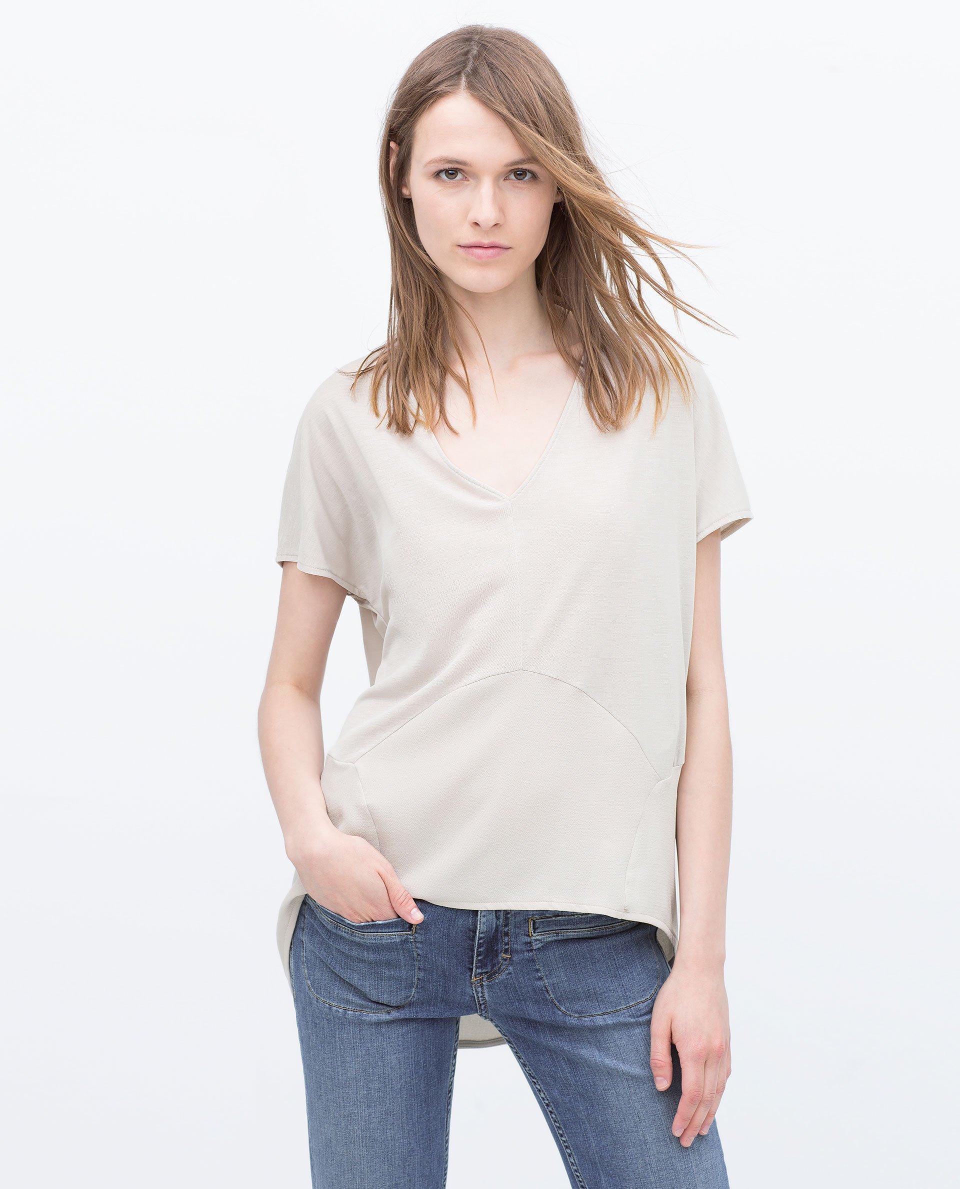 Zara Open Back Blouse 59