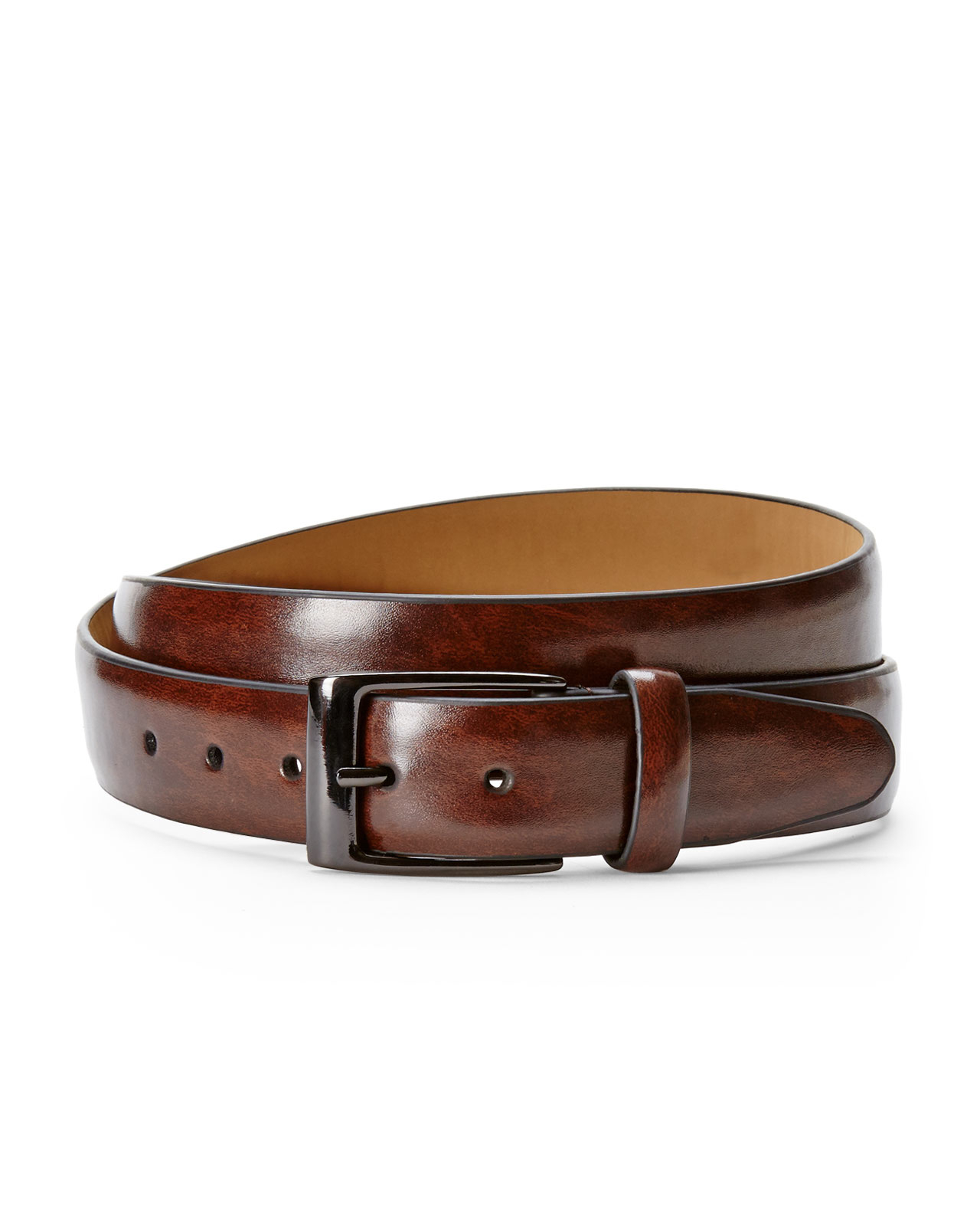 dockers leather belt in brown for lyst
