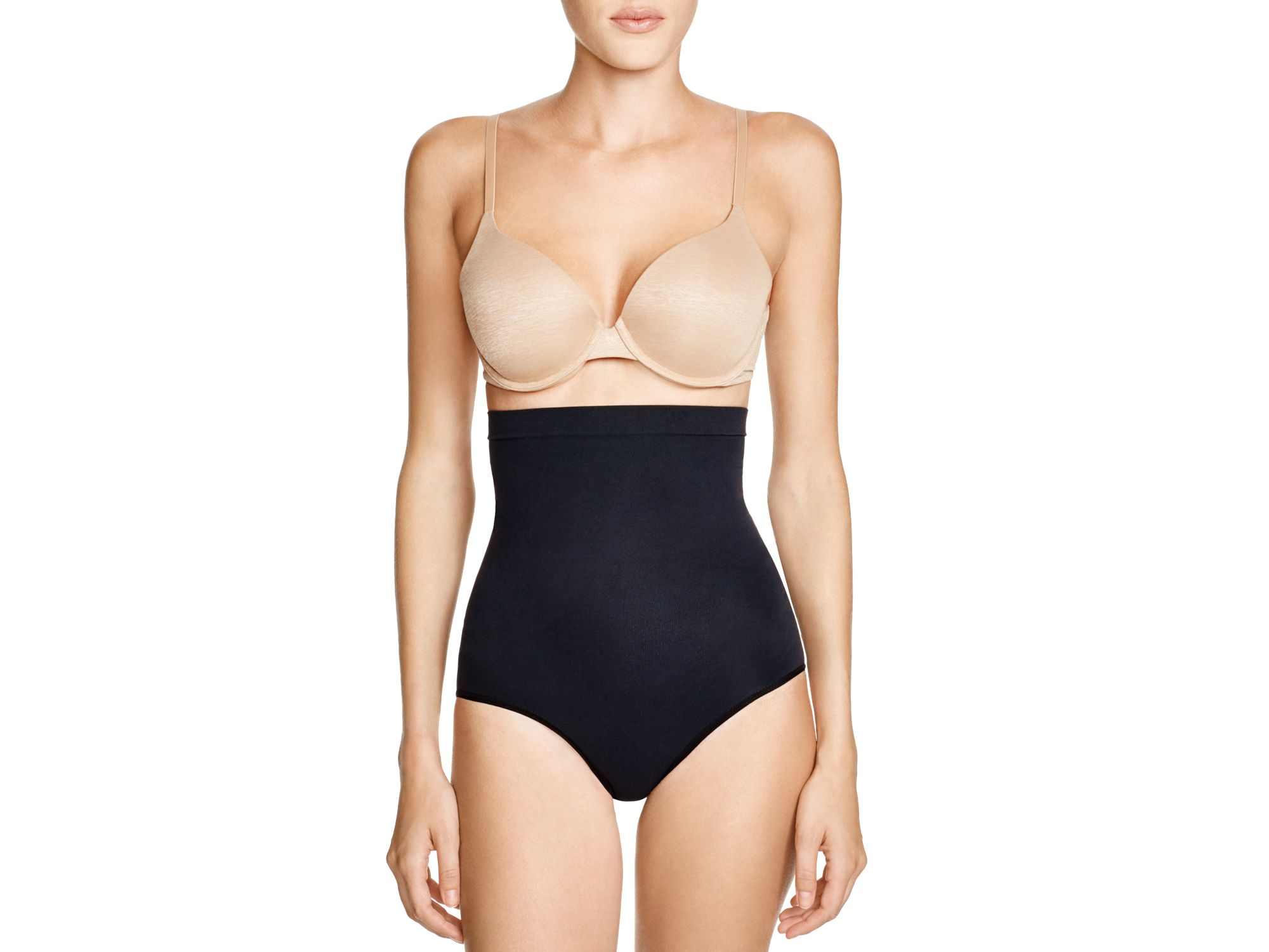 bb410d586484b Spanx ® Higher Power Panties #2746 in Black - Lyst