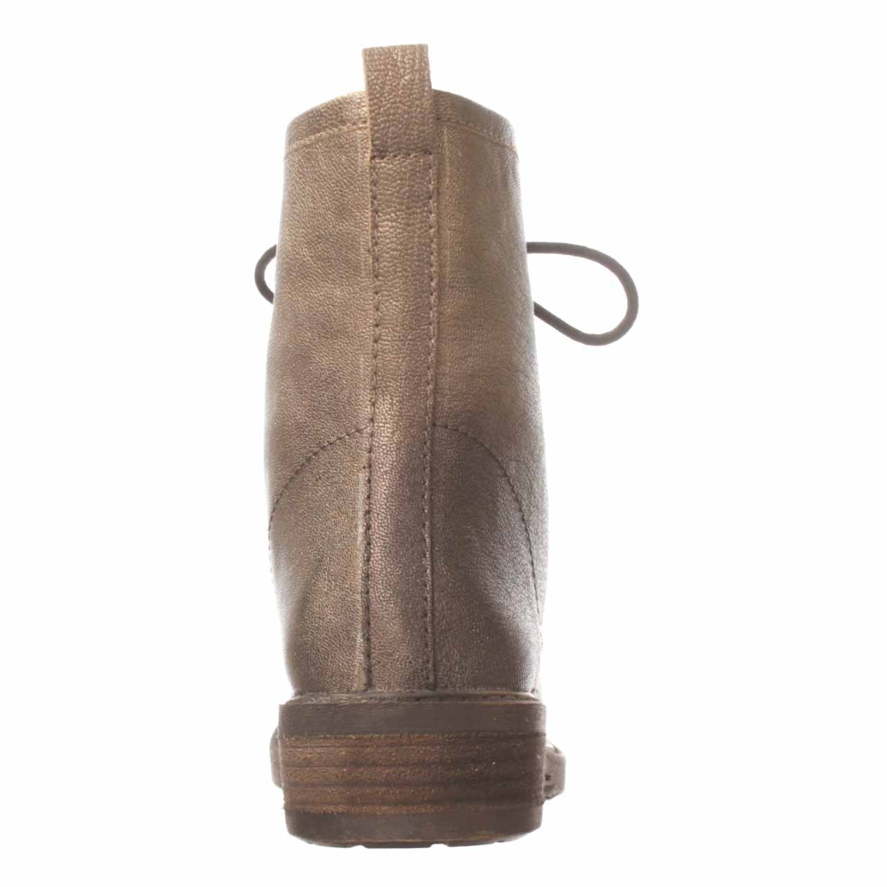 Lyst Lucky Brand Novembere Combat Boot In Brown
