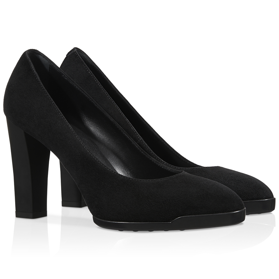 tod s suede pumps in black lyst