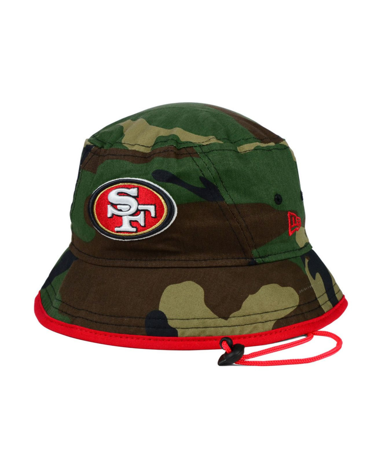 Lyst - KTZ San Francisco 49Ers Camo Pop Bucket Hat in Green for Men 0c0dda968