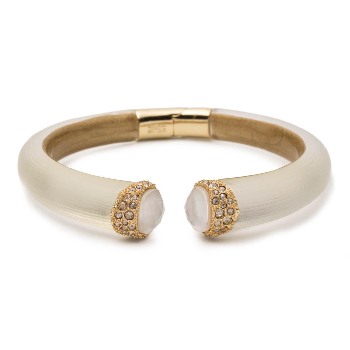 Alexis Bittar Crystal Encrusted Capped Hinge Bracelet csTCvnyS