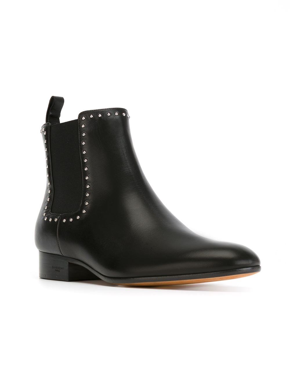 Givenchy Studded Chelsea Boots In Black Lyst