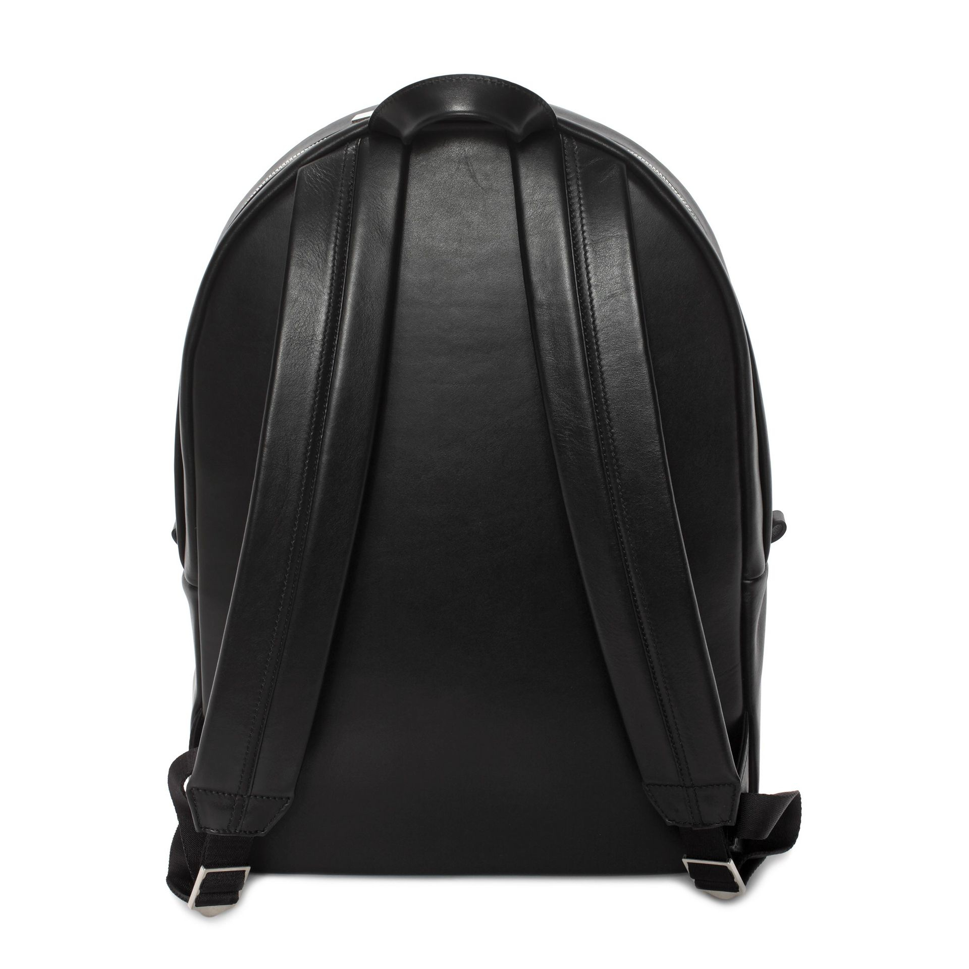 18169bc82fa Lyst - Alexander McQueen Black Skull Pull Backpack in Black for Men