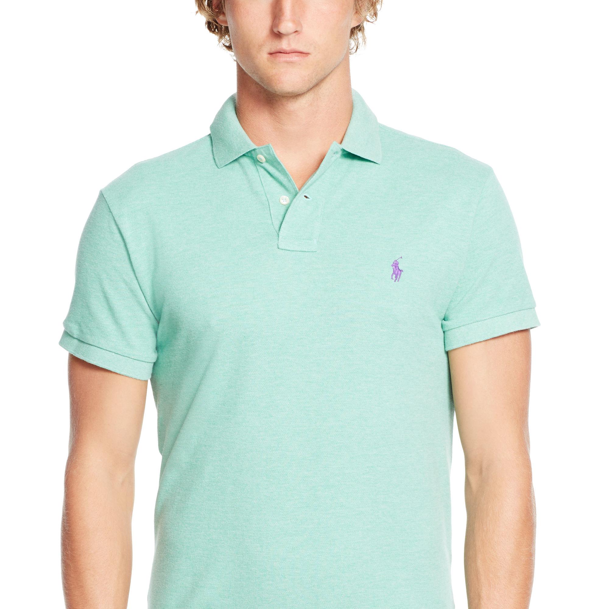 ... Polo Ralph Lauren Men Custom-Fit Mesh Darkgreen ...