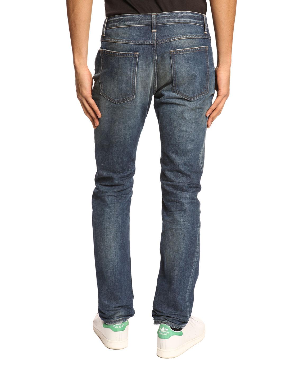 closed blue denim jeans in blue for men lyst. Black Bedroom Furniture Sets. Home Design Ideas
