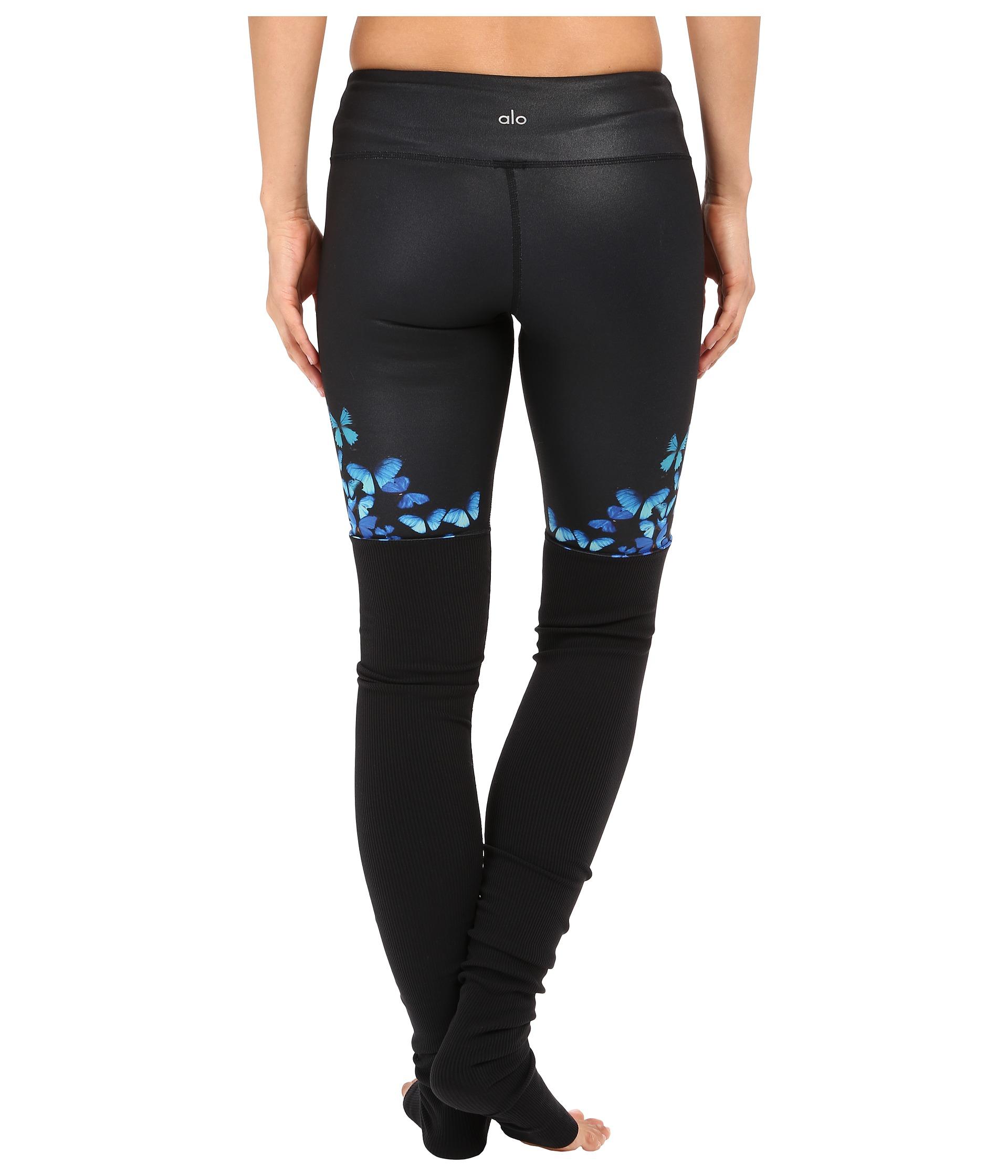 Alo Yoga Gypset Goddess Leggings In Black