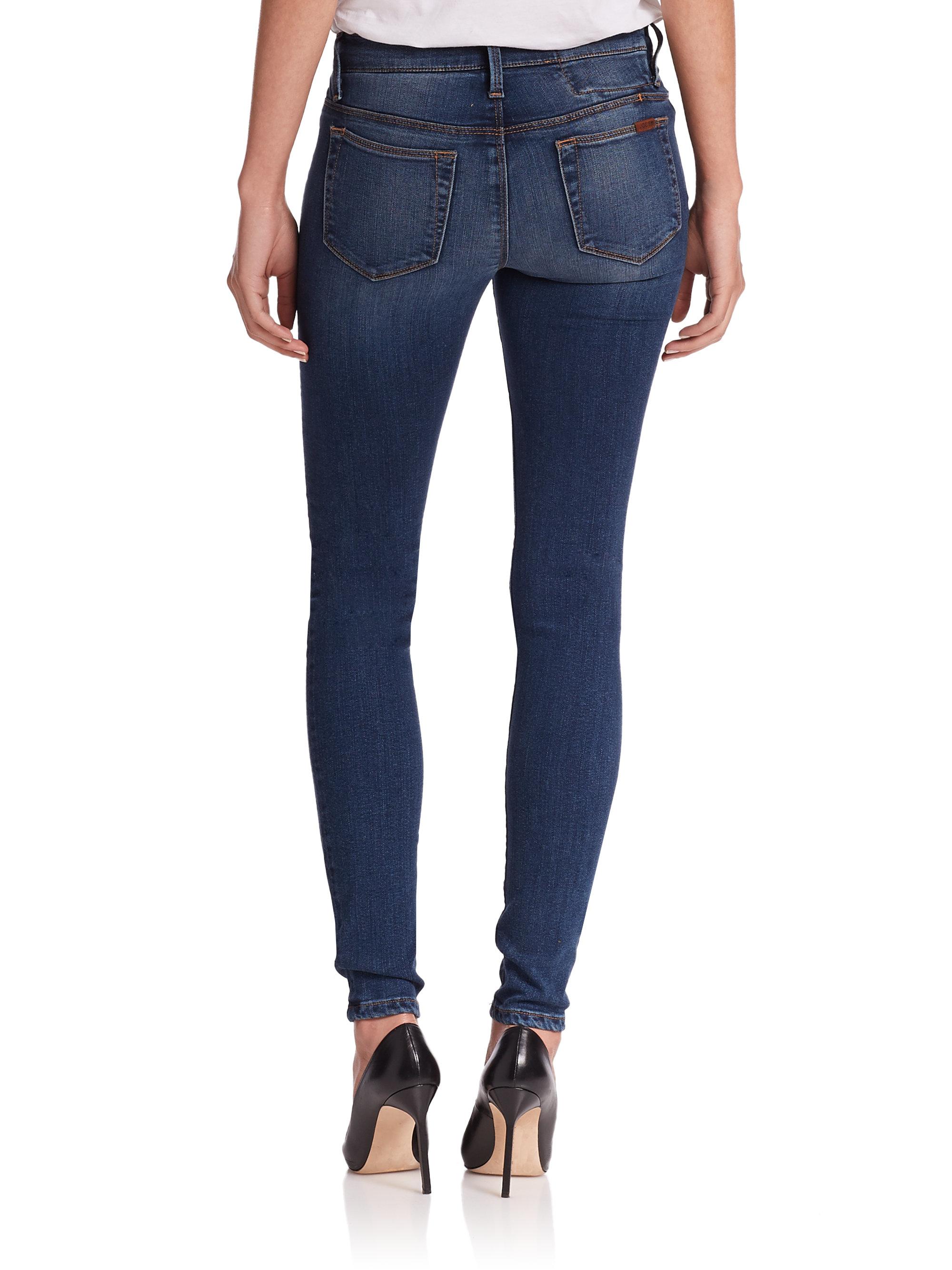 Joe&39s jeans Hello Skinny Jeans in Blue (medium blue) | Lyst