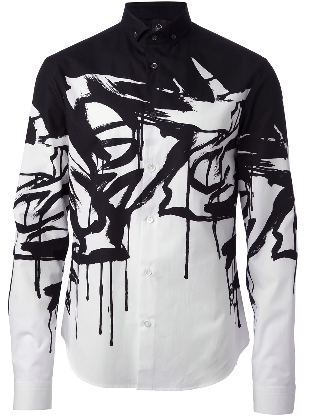 Lyst Mcq Swallow Print Shirt In Black For Men