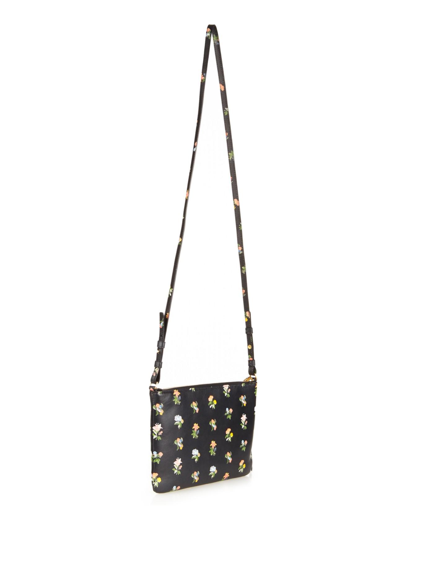 Monogram Small Prairie Flower Clutch Bag, Black Multi