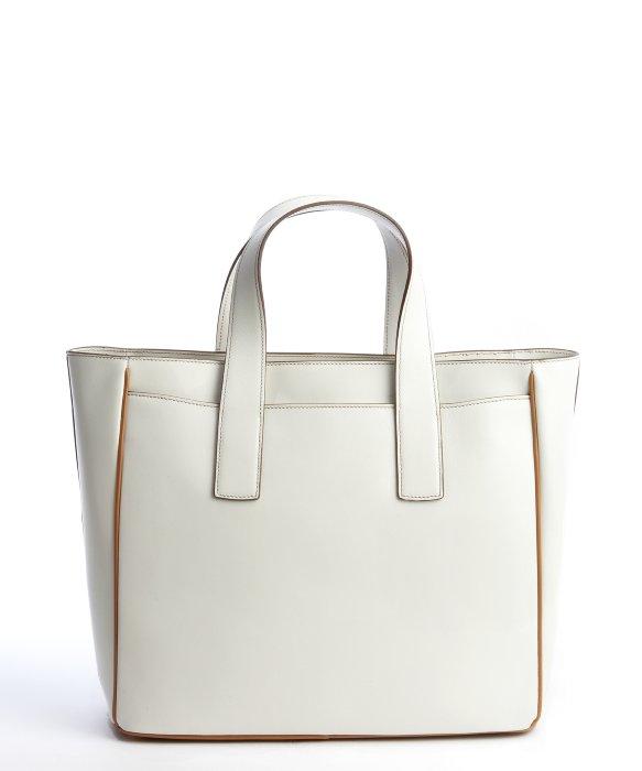 prada frame bag white
