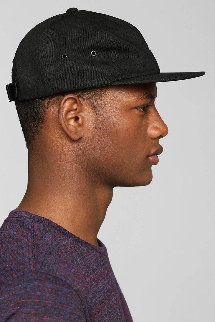 ee545cfe9aa25 Vans Salton Strap-Back Hat in Black for Men - Lyst